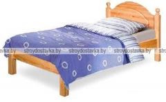 """Кровать односпальная с заглушкой без ножной спинки """"Лотос"""" Б-1089-08"""
