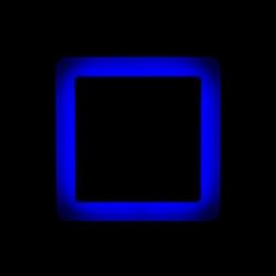 Светильник LED ультратонкий TruEnergy с декоративной подсветкой 6+3W