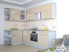 Кухня Мила Глосс Угловая 60 МДФ