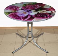 Стол обеденный Цветы