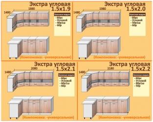 Кухня Корнелия Экстра (угловая)