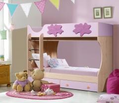 Кровать двухъярусная Лилия СН-108.01