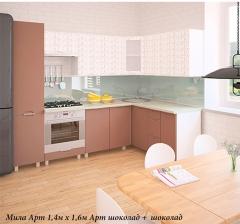 Кухня Мила Арт (угловая) МДФ